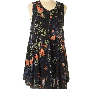 UO Ecote Floral Tunic Dress